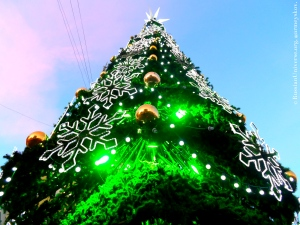 Christmas tree in Russia