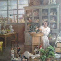 Mariya Tikhova - Yelena Danko at work, 1936-37