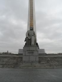 Konstantin Tsiolkovsky (1857-1935) statue