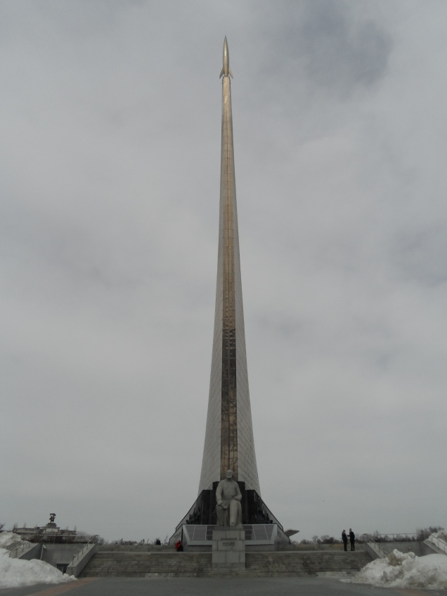 The Monument to the Conquerors of Space (1964) & Konstantin Tsiolkovsky statue