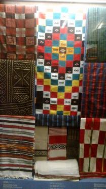 African drapery in Kunstkamera