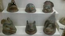 Ancient Masks №1 in Kunstkamera
