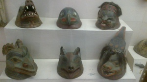 Ancient Masks №1 in Kunstkamera