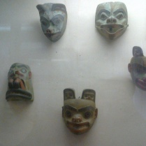 Ancient Masks №2 in Kunstkamera
