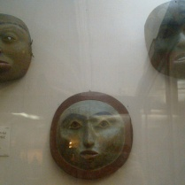 Ancient Masks №3 in Kunstkamera