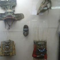 Ancient Masks №4 in Kunstkamera
