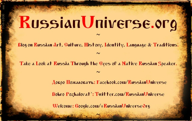 RussianUniverse.org & Social Media