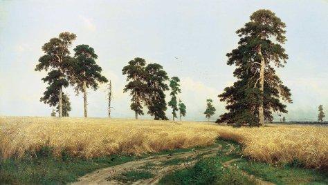 Ivan Shishkin Rozh (A Rye Field), 1878