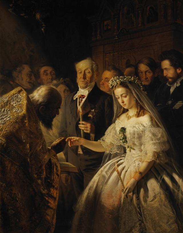 Vasily Pukirev - The Unequal Marriage, 1862.