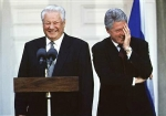 Yeltsin and Clinton's Facepalm