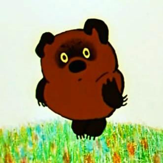 Vinni Pukh aka Winnie-the-Pooh