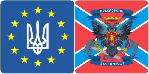 Euromaidan vs Russian Spring