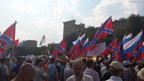"""""""For Russian Donbass"""" Rally"""