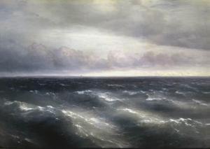 Ivan Aivazovsky - The Black Sea, 1881.
