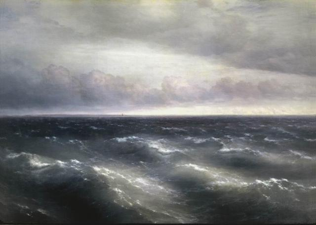 Ivan Aivazovsky - The Black Sea, 1881.
