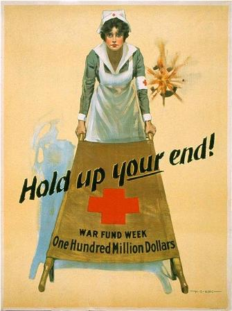 WWI Poster Hold Up Your End