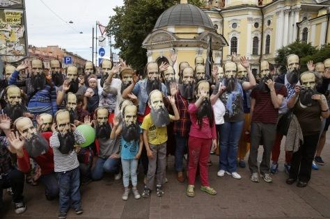 Dostoyevsky Day in Saint Petersburg
