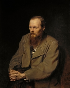 Portrait of Fyodor Dostoyevsky by Vasily Perov, 1872.