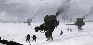 The-Russians-are-coming type klyukva