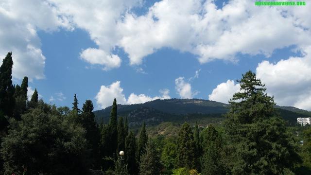 Nikitsky Botanical Garden (founded in 1812), Yalta, Crimea.