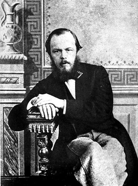 Fyodor Dostoyevsky in 1863.