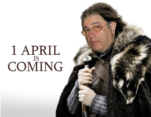 1 April is coming