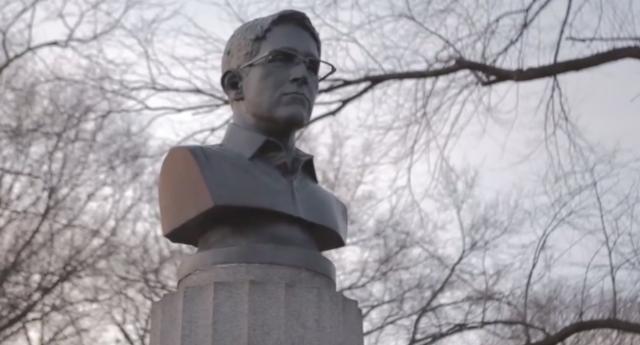 Snowden bust