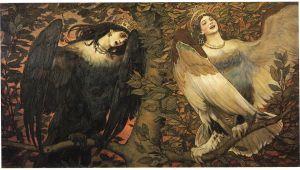 Viktor Vasnetsov — Sirin & Alkonost — Birds of Joy and Sorrow, 1896.