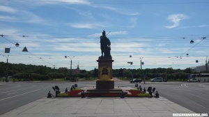 Monument to Alexander Suvorov by Mikhail Kozlovsky in Saint Petersburg