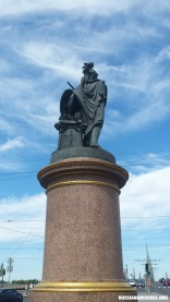 Monument to Alexander Suvorov by Mikhail Kozlovsky in Saint Petersburg