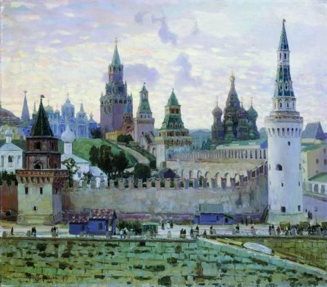 Apollinary Vasnetsov — Moscow Kremlin, 1897.