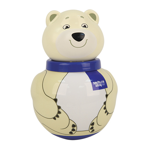 Roly poly bear