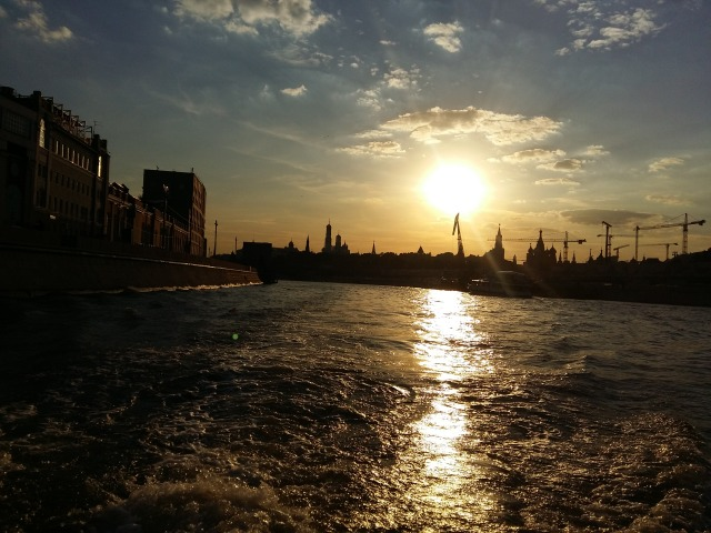 Moscow boat trip 7