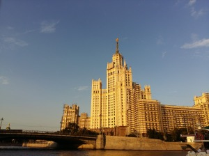 Moscow boat trip 8