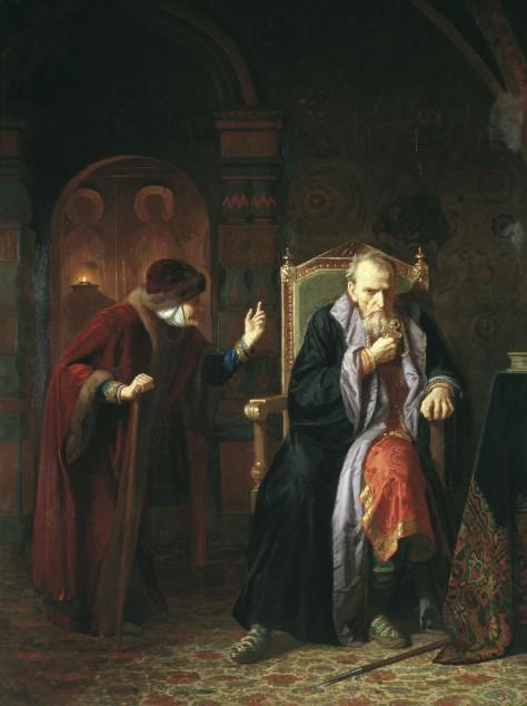 Bogdan (Karl) Venig - Ivan the Terrible and his old nanny, 1886.