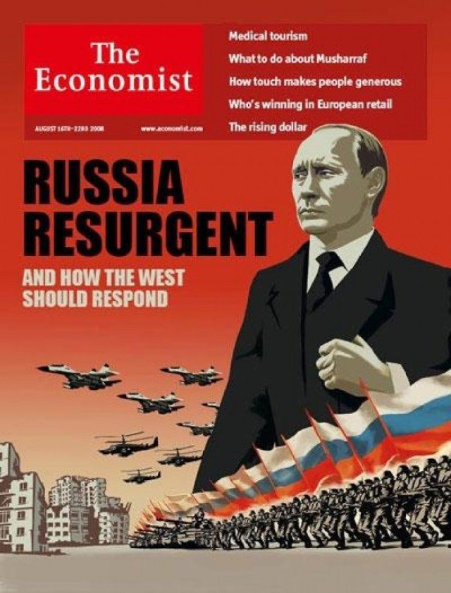 The Economist cover