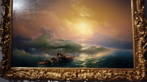 Ivan Aivazovsky - The Ninth Wave (1850). Oil on canvas.