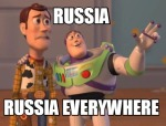 Russia everywhere