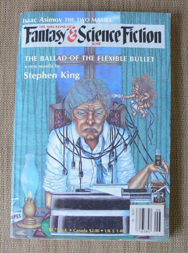 Stephen King Flexible Bullet