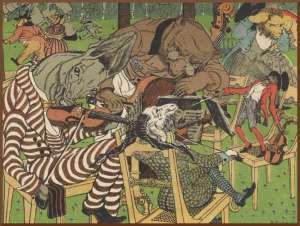 """Vasily Timorev - illustration to """"Quartet"""""""