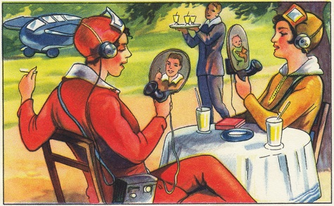 A vision of the future (German magazine, 1930).